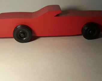 Handcrafted Wood Toy Car #23