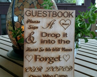 Drop Box Guest Book Sign / Guest Book Sign / Wedding Drop Box Guest Book / Wedding Decor / Wedding Sign / wedding guest book sign /wood sign