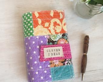 Idea notebook, planner, clever ideas, journal