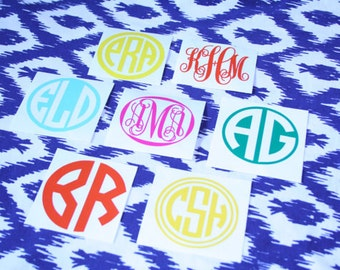 "Shop ""monogram vinyl decal"" in Office"