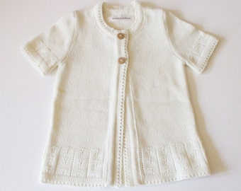 Girl's merino wool long vest/cardigan/waistcoat/top/bolero/sweater/dress/tunic/buttoning vest