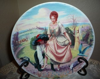 Limoges-Turgot Cendrillion Collector's Plate