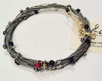 Guitar Strings Bracelet