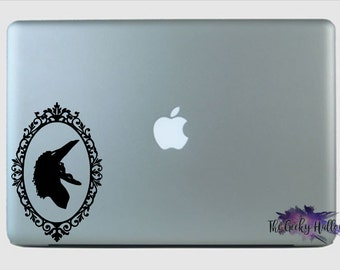Wife Ghost from Beetle Juice Car Decal