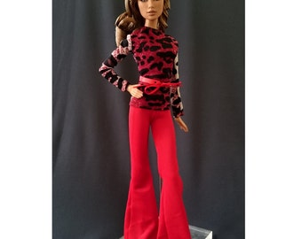 Dolls tops + pants for Muse barbie, Barbie, FR,Fashion Royalty doll- No.042