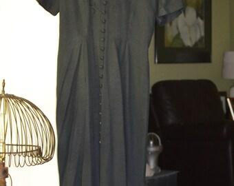 Vintage 80s Dress  Size 12