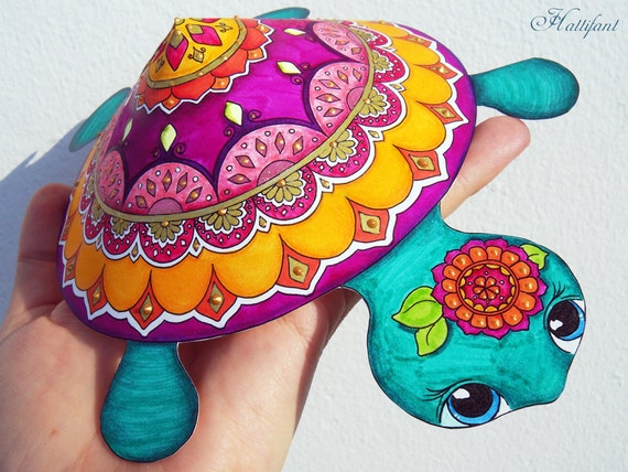 mandala turtle grown up coloring papercraft already. Black Bedroom Furniture Sets. Home Design Ideas