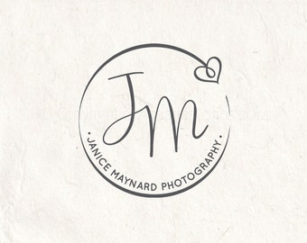 Photography logo - digital download - premade logo design - Photography Watermark - digital download psd file