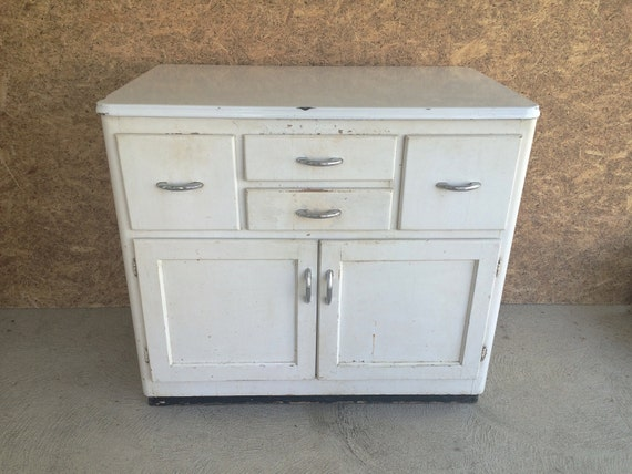 cabinet vintage wood and metal white hoosier style kitchen cabinet