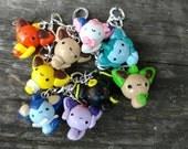 Eeveelutions Charm Bracelet, Clay Pokemon Charms, Eevee Evolution, Pokemon Generation, Anime Jewelry, Otaku, Geekery, Gamer Girl