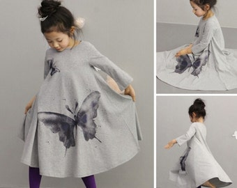Butterfly Princess Dress