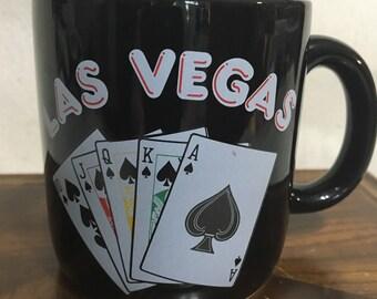 1980's Las Vegas souviner mug