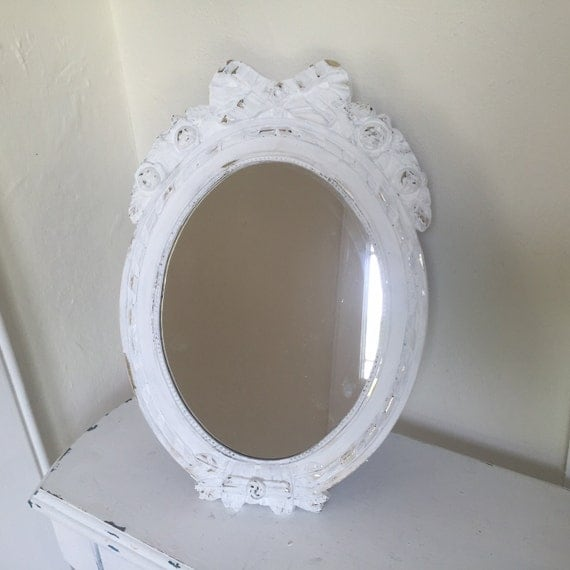 Vanity Mirror Makeup Mirror Shabby Chic Table Top Mirror