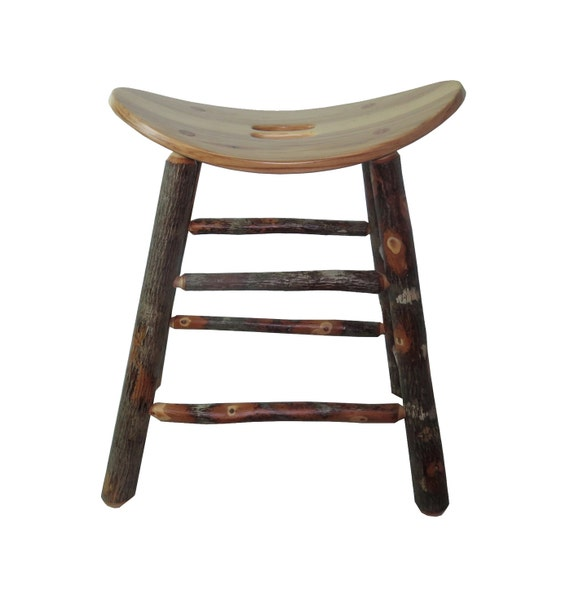Rustic Hickory Saddle Seat Bar Stool 30 inch : il570xN859303563f71t from www.etsy.com size 570 x 612 jpeg 29kB