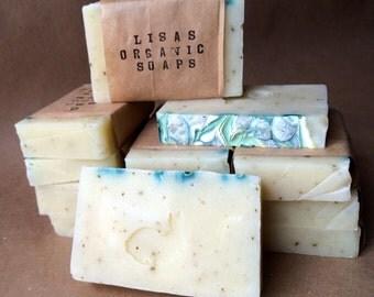 Unscented Basil w/ Avocado Oil- Organic Soap Bar