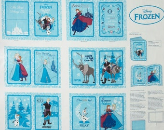 Free Shipping. SALE Disney Frozen Sisters cotton book to sew. all the characters . LAST ONE