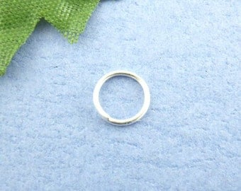 150 - 7mm Silver Plated Jump Rings