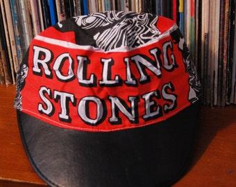 "Vintage 1981 Rolling Stones Painter's Cap ""Tattoo You"" RARE"
