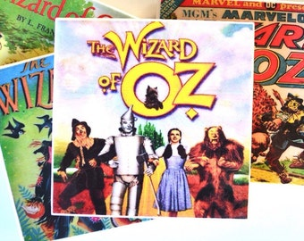 Ceramic Tile Coasters - Wizard of Oz Collection