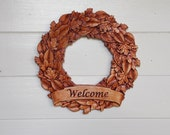 Fall Wreath, Front Door W...