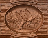 Duck Hunting Wood Carving...