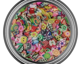 Fimo Clay Slices for Nail Art and Decoration