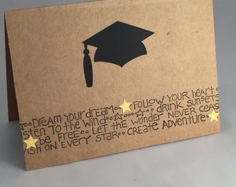 Reach for the Stars graduation card