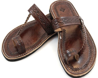 Brown Moroccan Sandals