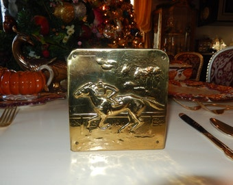 HORSE RACE BOOKEND