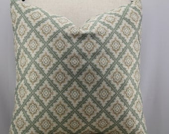 Designer pillow cover,throw pillow,decorative pillow,accent pillow,same fabric front and back.