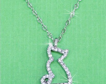 Curious Kitty Necklace