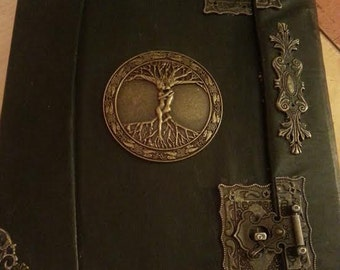 Book of Shadows for THE NEW WITCH Wicca Pagan Spells Book of Shadows grimoire Witch book of shadows Journal  old