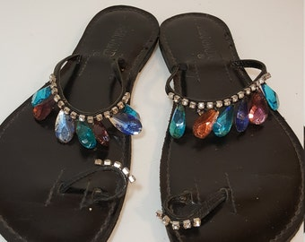 FREE  SHIPPING  1960 MOD Sandals
