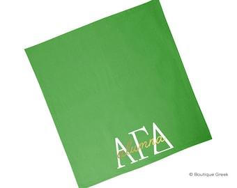 AGD Alpha Gamma Delta Alumna Sorority Blanket