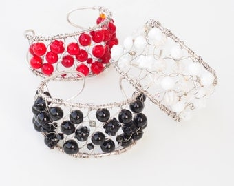 din-design glass bracelets