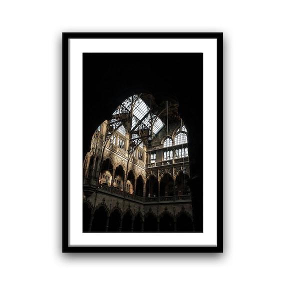Fine art print, Trading House, 8x12, 13x19, Giclée print, Abandoned, Belgium, Artwork, Wall Decor, Art print, Urban Photography