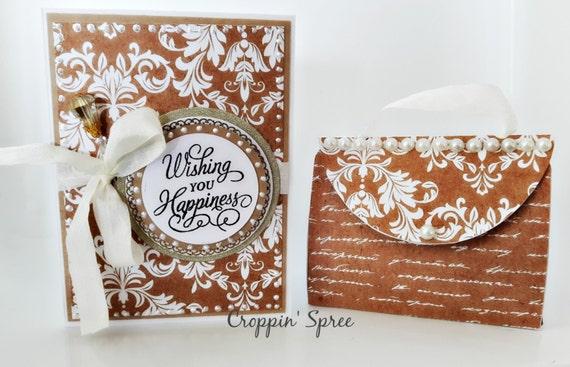 Handmade Greeting Card and Money Holder.