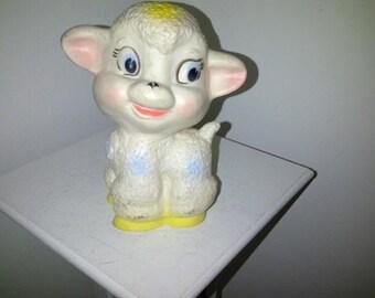 Vintage Lamb Tilly Toy Squeak Toy