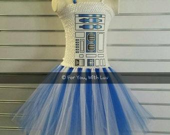 Halloween Tutu Dress Robot Tutu Dress Girls cosplay Character Halloween Costume Dance recital dress Pageant clothing