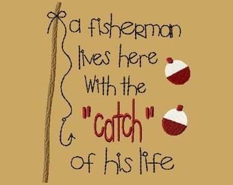 WE060 - Fisherman Catch 5x7