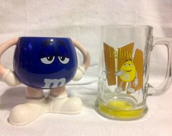 Pair Of M&M Mugs