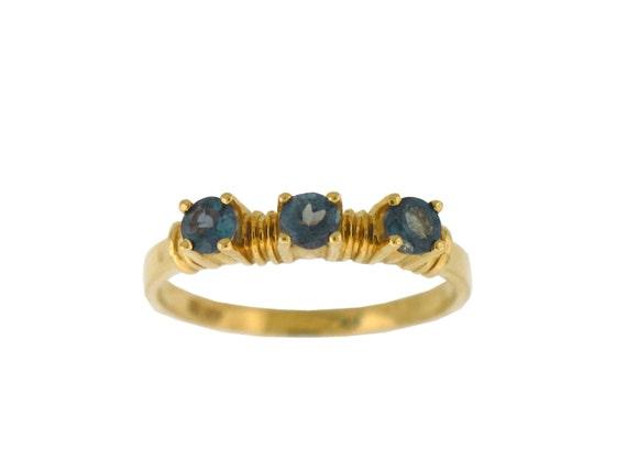 Alexandrite Class Ring Gold Alexandrite Ring Natur...
