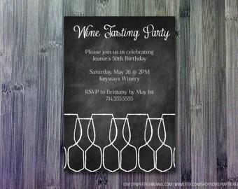 Wine Tasting Party Invitation | BP3