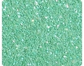Mint Green Chunky Glitter Fabric Sheet A5 orA4 Size Pastel Green Mint Glitter Fabric -  8X11 Glitter Sheet