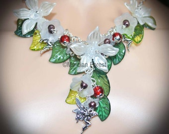 Wild Woods Fairy Necklace - Pagan Jewellery, Wicca, Witch, Fae, Sidhe