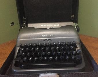 Vintage Remington rand typewriter  1920's