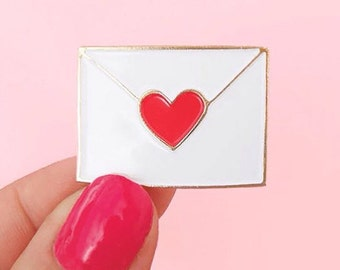 PIN'S LETTRE D'AMOUR