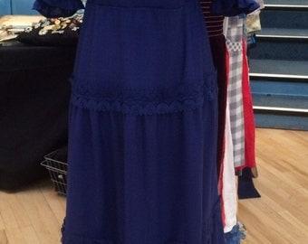 1970's Vintage Boho Dress - Size 12