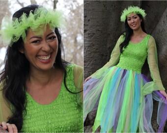 Woman's Plus Size Halloween  Fairy Costume ~ Theatre ~ Masquerade ~ Halloween Dress ~ Theatre ~ Party ~ Festivals ~Hens Night