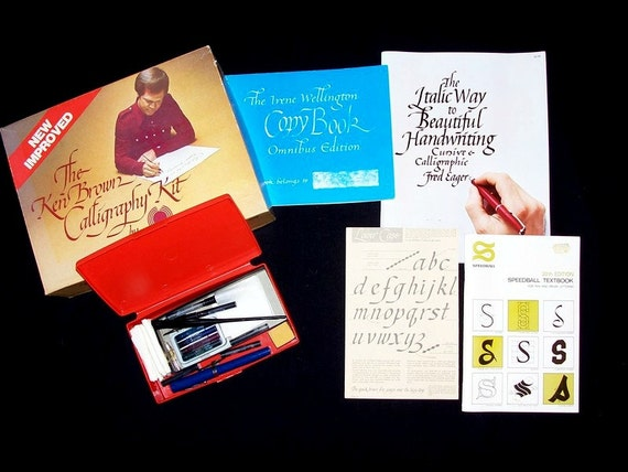 Calligraphy Kit By Hunt Speedball Irene By Shecollectsicreate